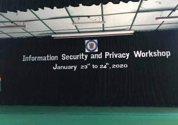 Information Security & Privacy Workshop: Day II